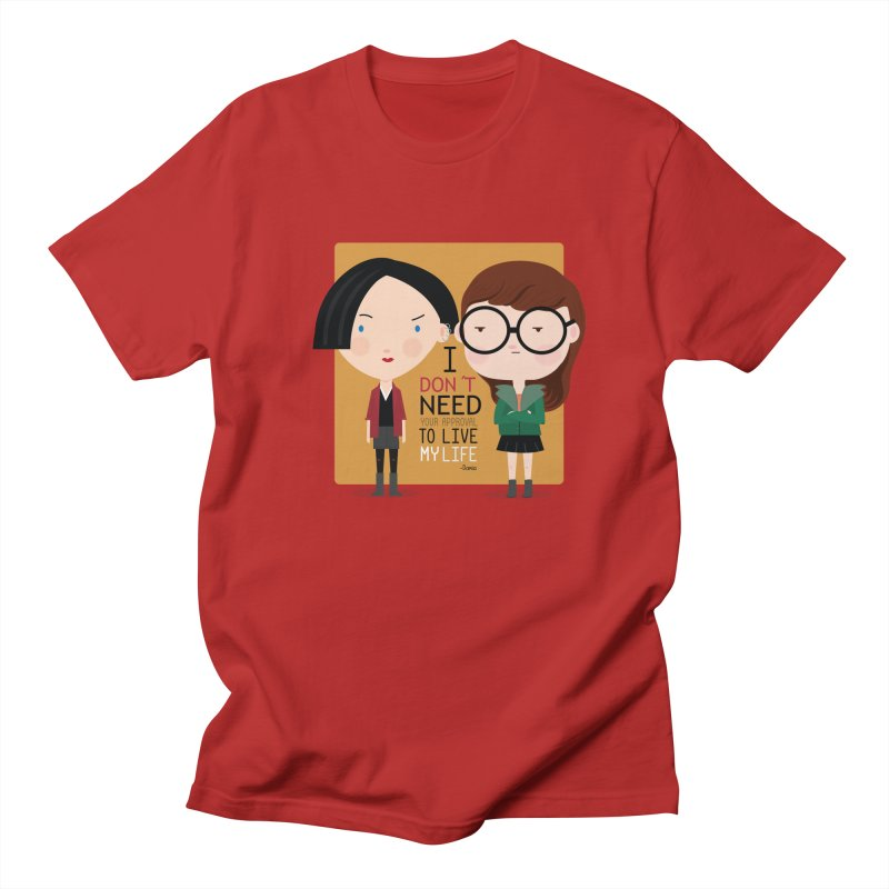 Daria  Men's T-shirt by Maria Jose Da Luz