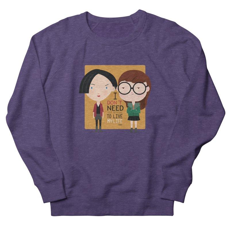 Daria  Women's Sweatshirt by Maria Jose Da Luz