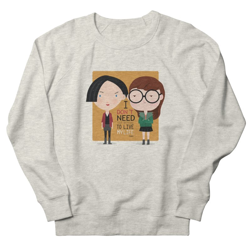 Daria  Men's Sweatshirt by Maria Jose Da Luz