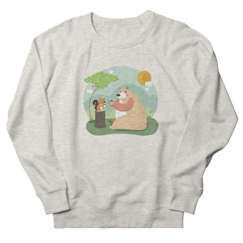 Tea time Women's Sweatshirt by Maria Jose Da Luz