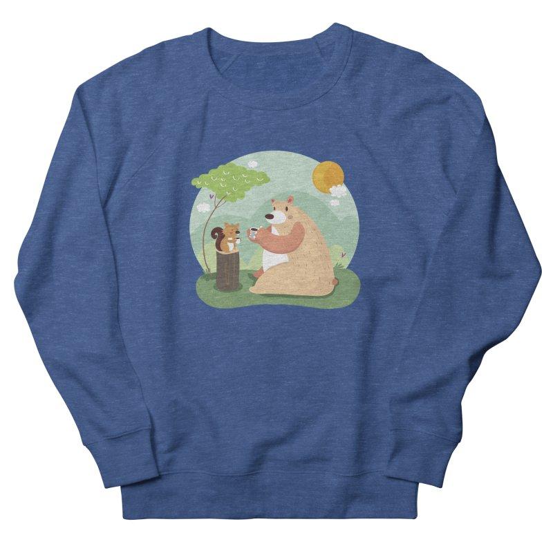 Tea time Men's Sweatshirt by Maria Jose Da Luz