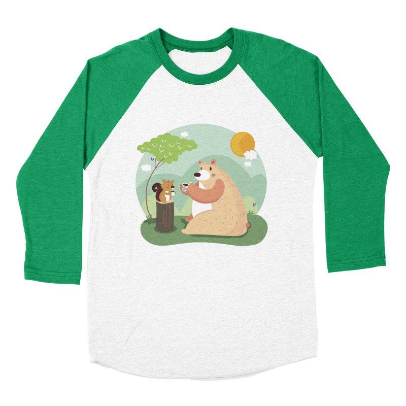 Tea time Men's Baseball Triblend T-Shirt by Maria Jose Da Luz