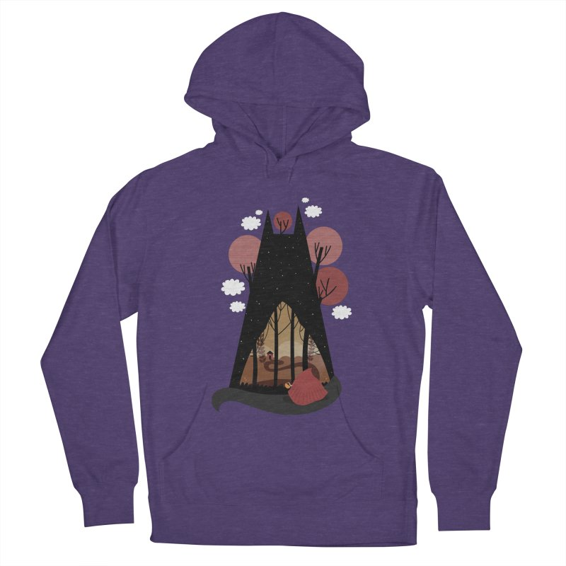 Into the woods Women's Pullover Hoody by Maria Jose Da Luz