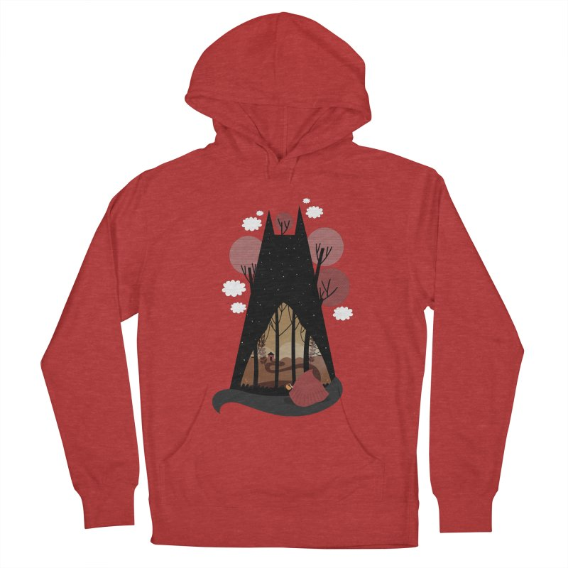 Into the woods Men's Pullover Hoody by Maria Jose Da Luz