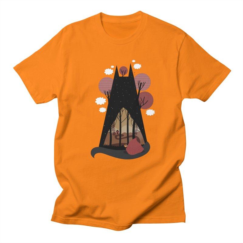 Into the woods Men's T-Shirt by Maria Jose Da Luz