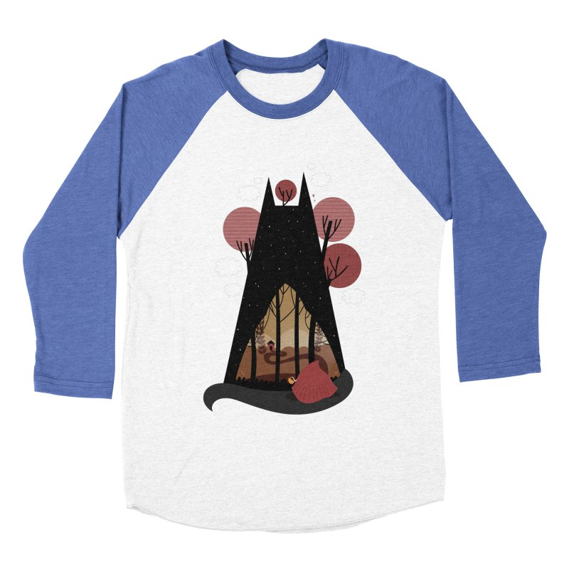 Into the woods Women's Baseball Triblend T-Shirt by Maria Jose Da Luz