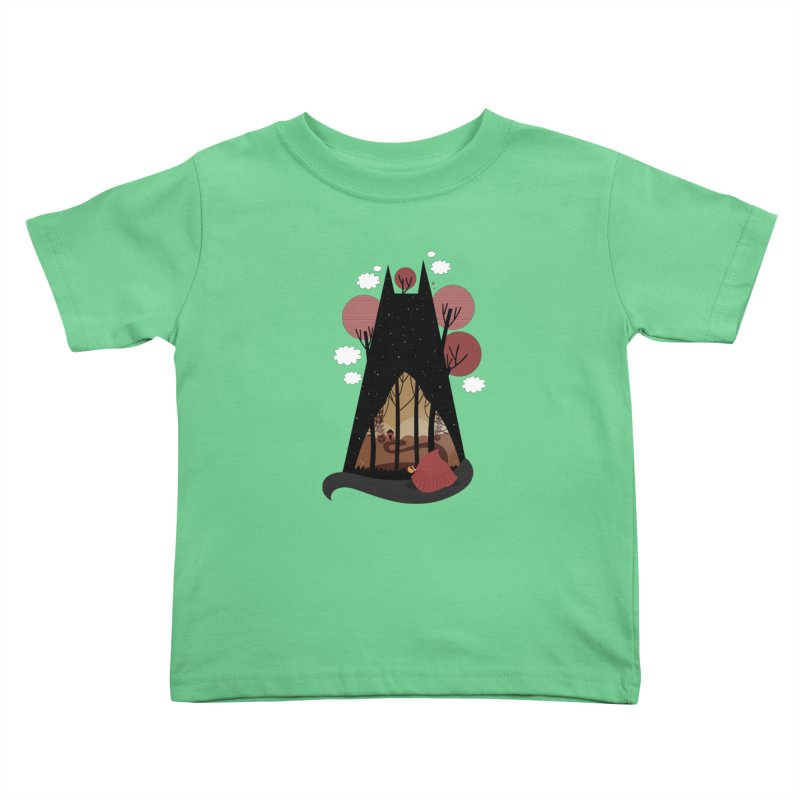 Into the woods Kids Toddler T-Shirt by Maria Jose Da Luz