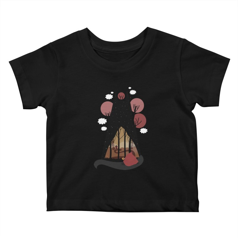 Into the woods Kids Baby T-Shirt by Maria Jose Da Luz