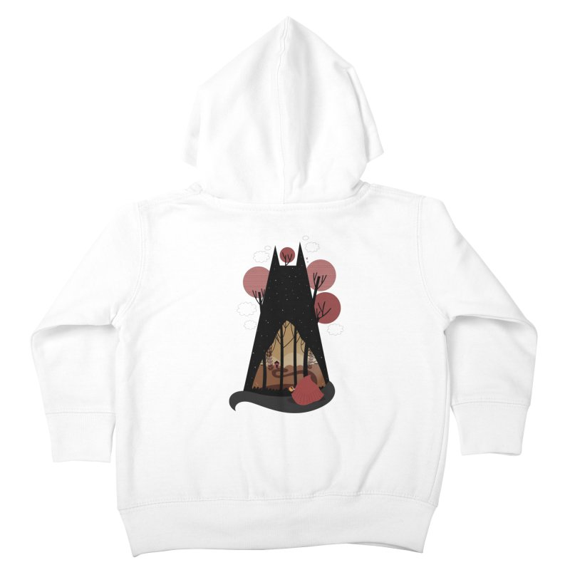 Into the woods Kids Toddler Zip-Up Hoody by Maria Jose Da Luz