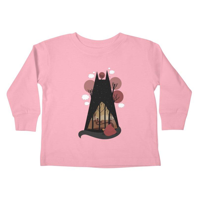 Into the woods Kids Toddler Longsleeve T-Shirt by Maria Jose Da Luz