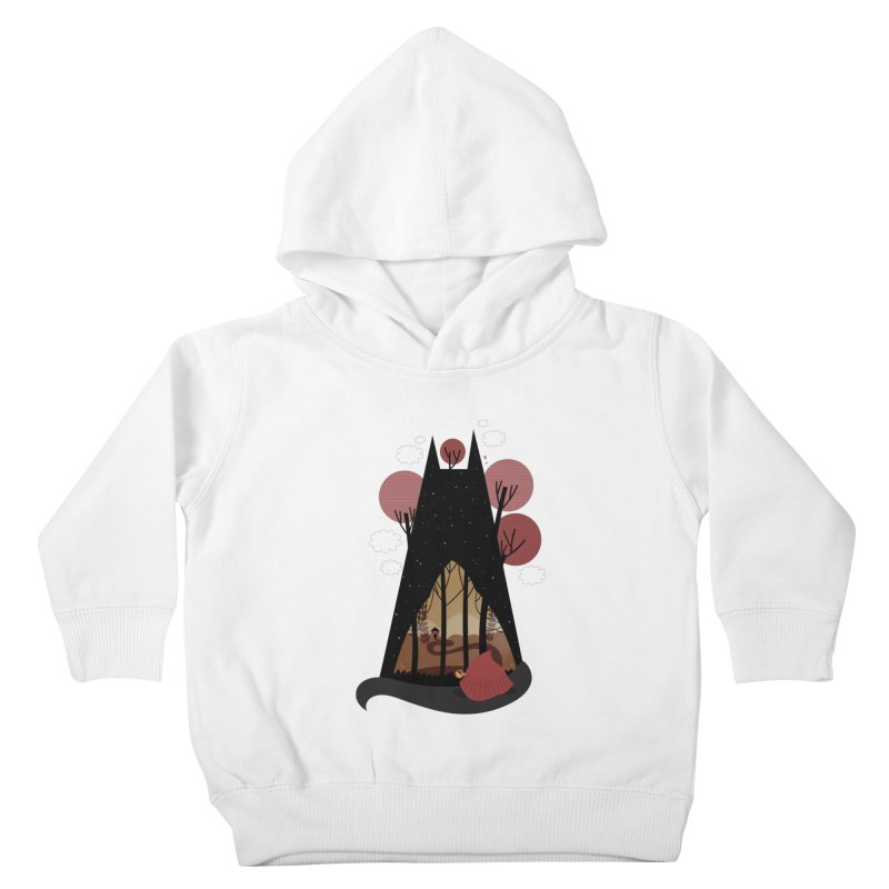 Into the woods Kids Toddler Pullover Hoody by Maria Jose Da Luz