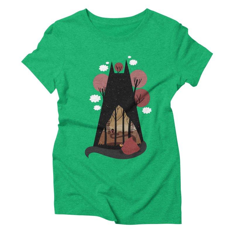 Into the woods Women's Triblend T-Shirt by Maria Jose Da Luz