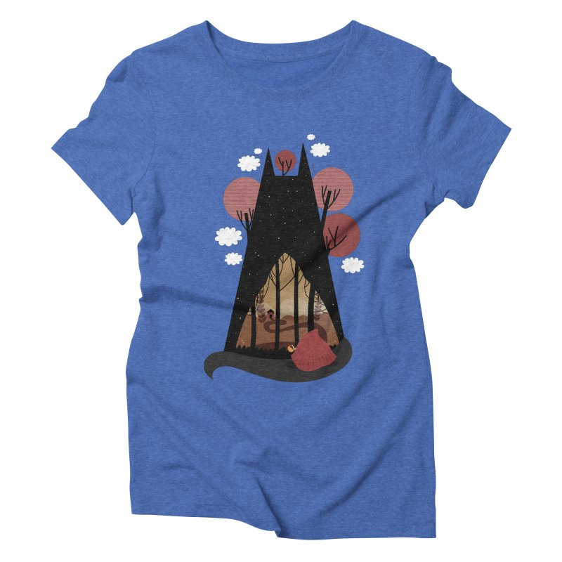 Into the woods Women's Triblend T-shirt by Maria Jose Da Luz