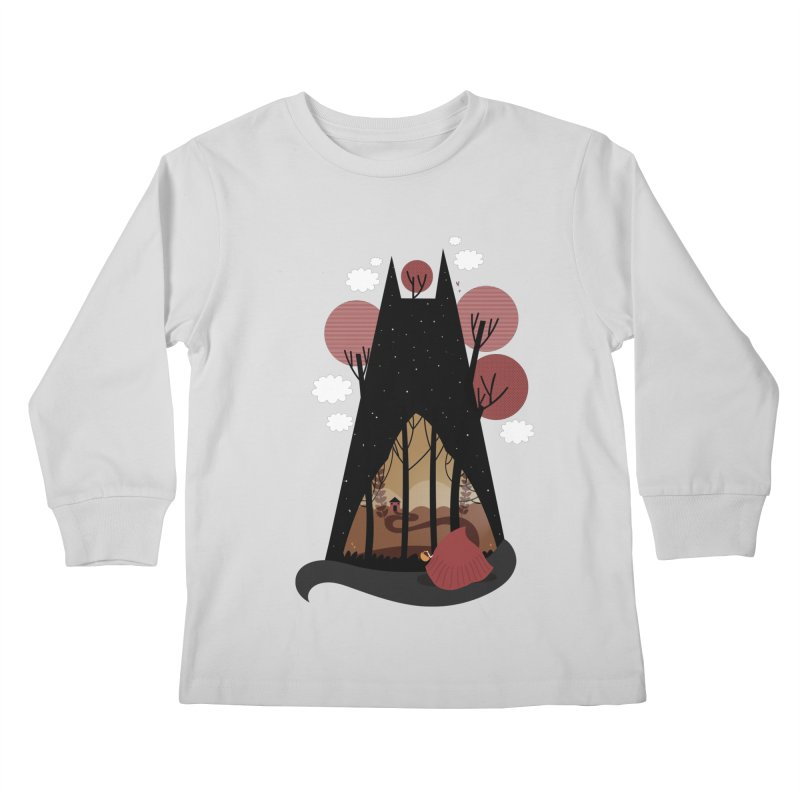 Into the woods Kids Longsleeve T-Shirt by Maria Jose Da Luz