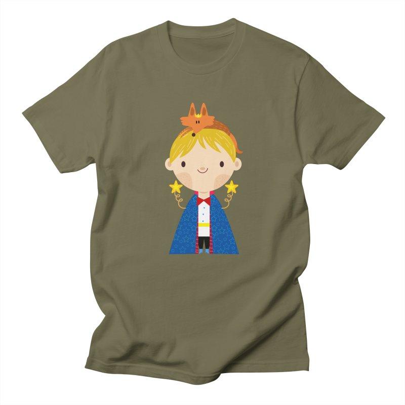 Le petit prince Men's T-Shirt by Maria Jose Da Luz