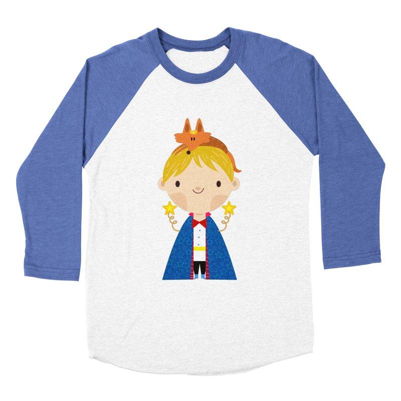 Le petit prince Men's Baseball Triblend T-Shirt by Maria Jose Da Luz