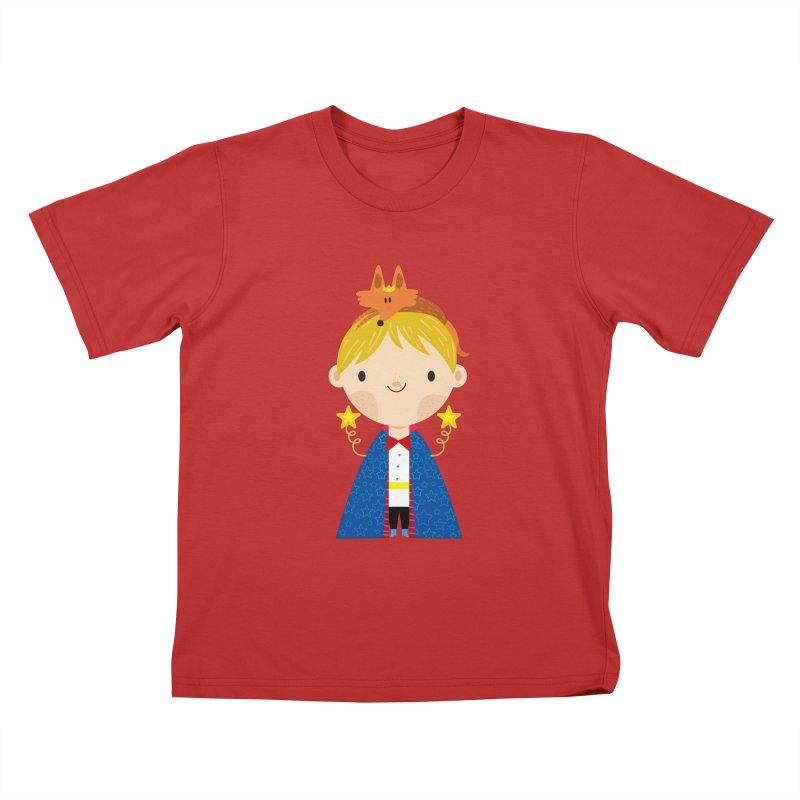 Le petit prince Kids T-Shirt by Maria Jose Da Luz