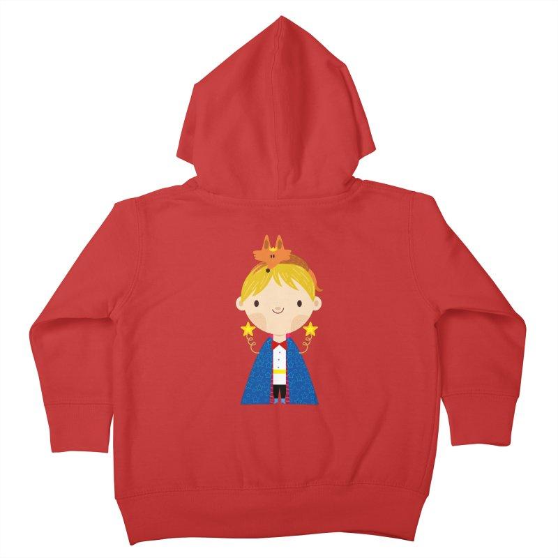Le petit prince Kids Toddler Zip-Up Hoody by Maria Jose Da Luz