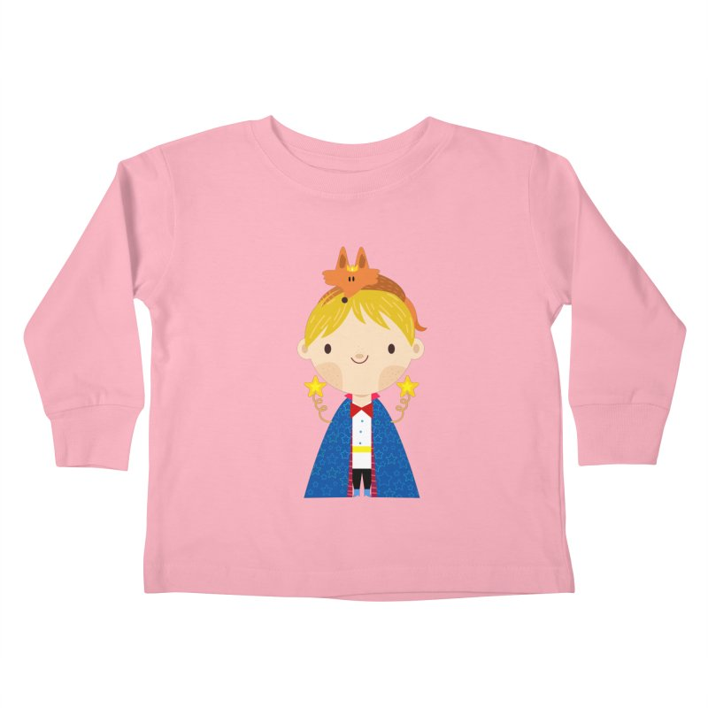 Le petit prince Kids Toddler Longsleeve T-Shirt by Maria Jose Da Luz