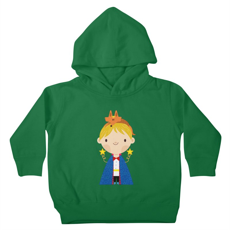 Le petit prince Kids Toddler Pullover Hoody by Maria Jose Da Luz