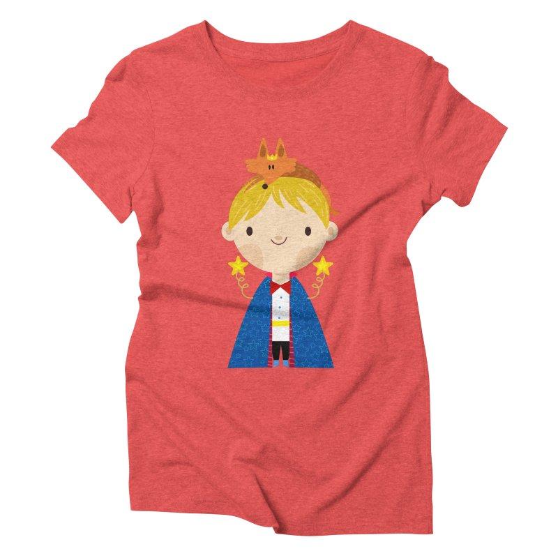 Le petit prince Women's Triblend T-Shirt by Maria Jose Da Luz