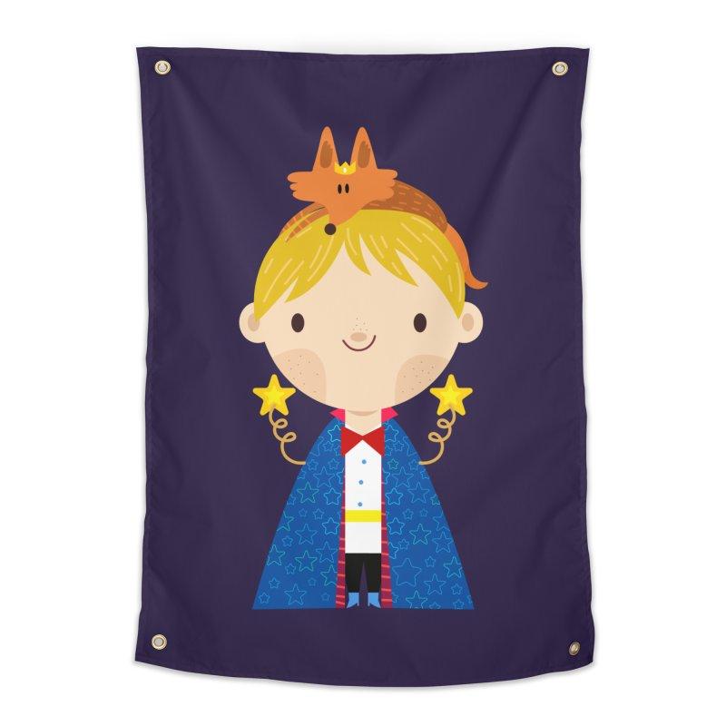 Le petit prince Home Tapestry by Maria Jose Da Luz