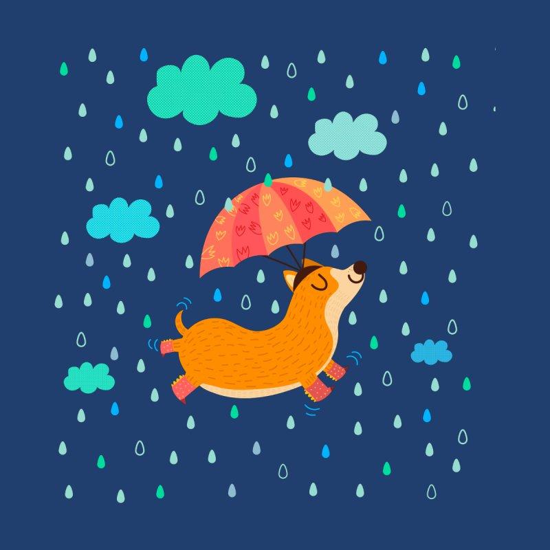 Dancing in the rain Women's V-Neck by Maria Jose Da Luz