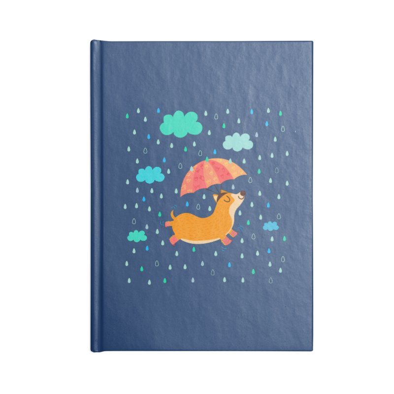 Dancing in the rain Accessories Notebook by Maria Jose Da Luz