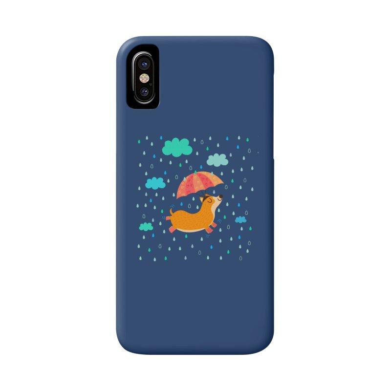 Dancing in the rain Accessories Phone Case by Maria Jose Da Luz
