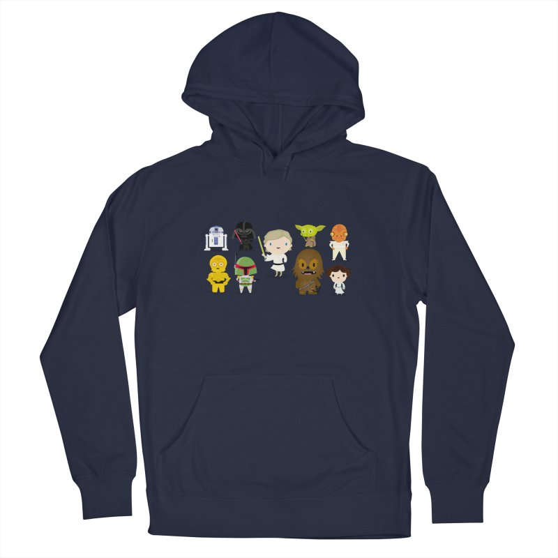 Mini starwars  Men's Pullover Hoody by Maria Jose Da Luz