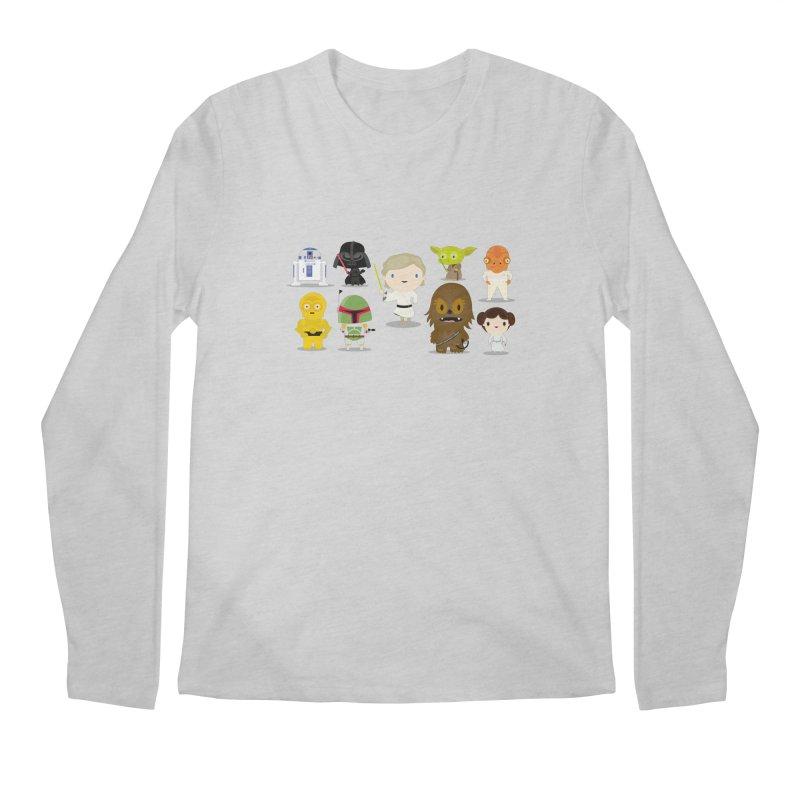 Mini starwars  Men's Longsleeve T-Shirt by Maria Jose Da Luz