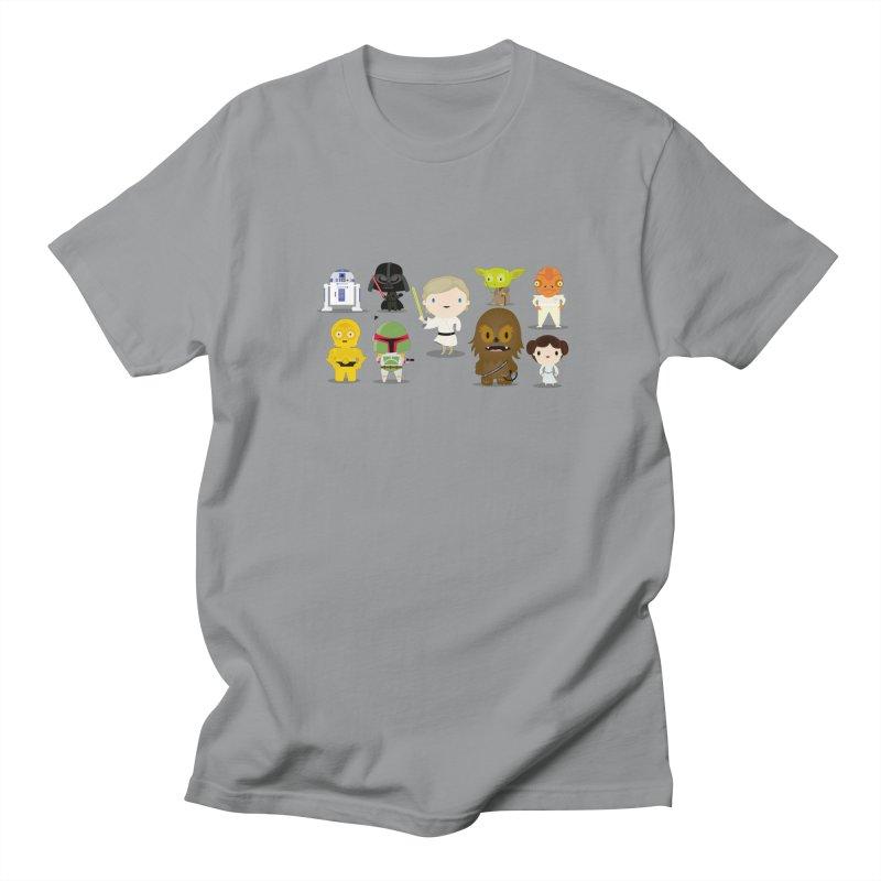 Mini starwars  Men's T-shirt by Maria Jose Da Luz