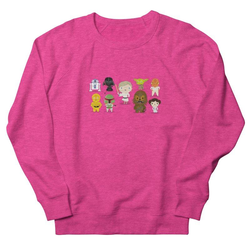 Mini starwars  Women's Sweatshirt by Maria Jose Da Luz