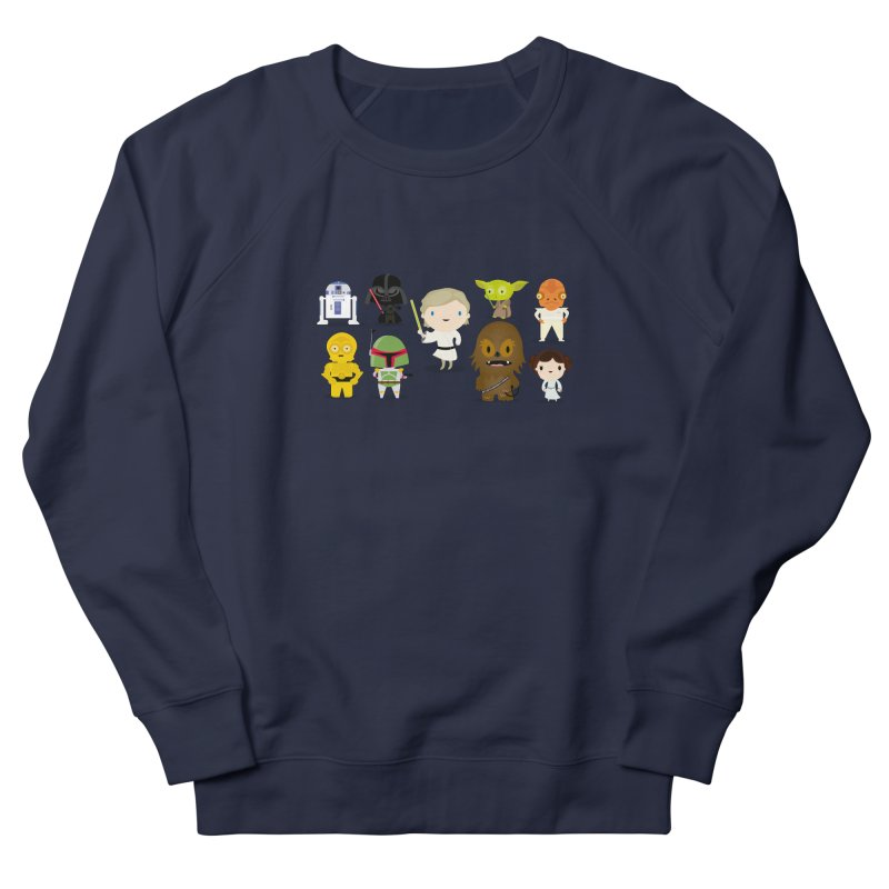 Mini starwars  Women's Sweatshirt by Maria Jose Da Luz