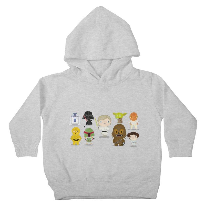 Mini starwars  Kids Toddler Pullover Hoody by Maria Jose Da Luz