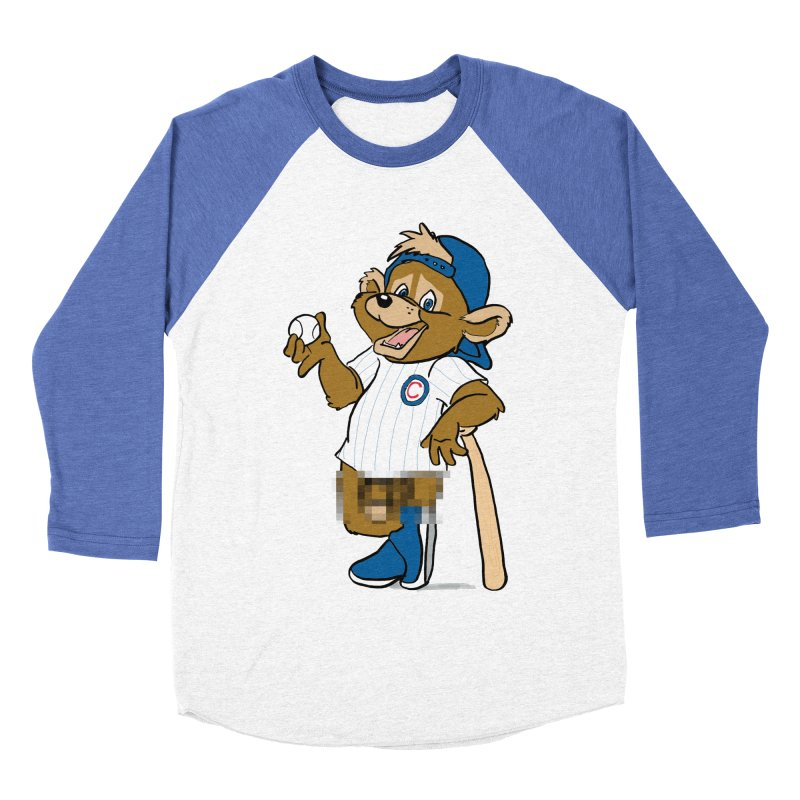 Mascot! Women's Baseball Triblend Longsleeve T-Shirt by Brooks Industries