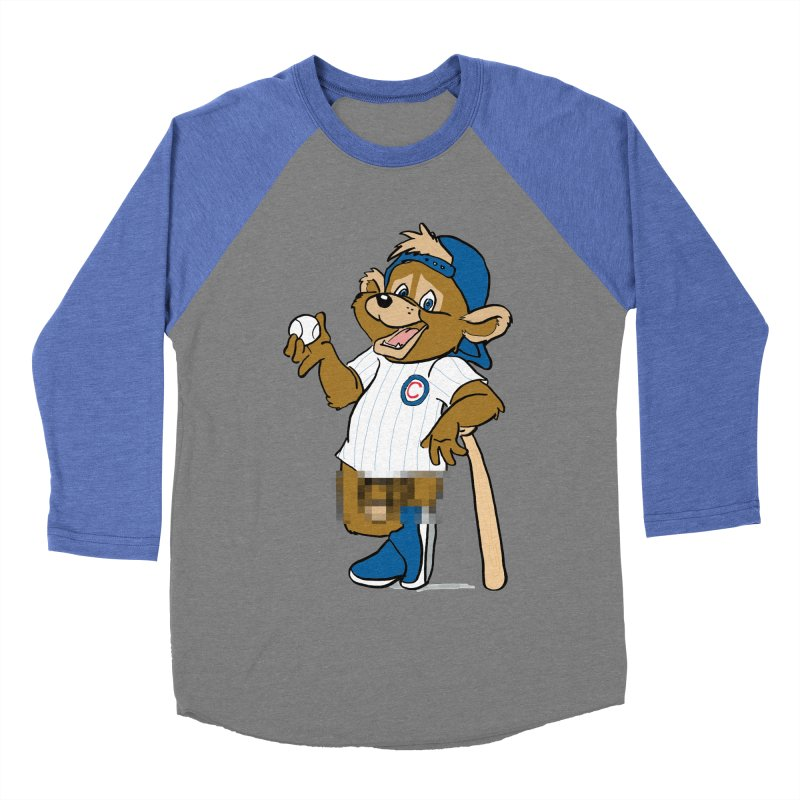 Mascot! Women's Baseball Triblend T-Shirt by Brooks Industries