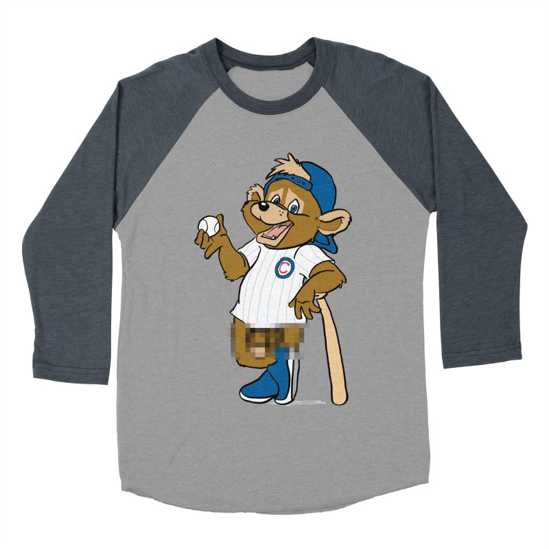 Mascot! Men's Baseball Triblend Longsleeve T-Shirt by Brooks Industries