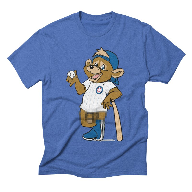Mascot! Men's Triblend T-shirt by Brooks Industries