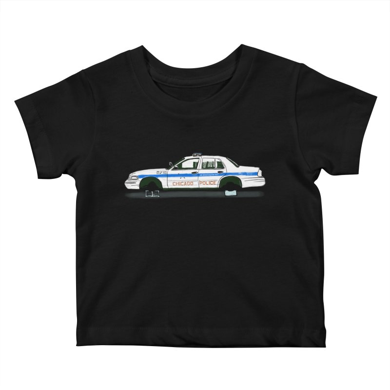 Reboot the Police Kids Baby T-Shirt by Brooks Industries
