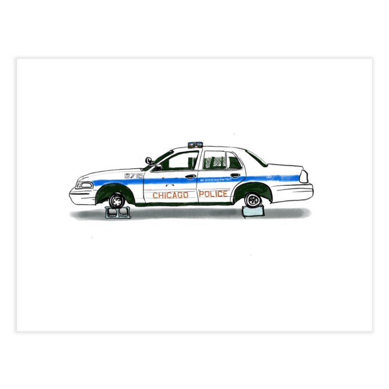 Reboot the Police Home Fine Art Print by Brooks Industries