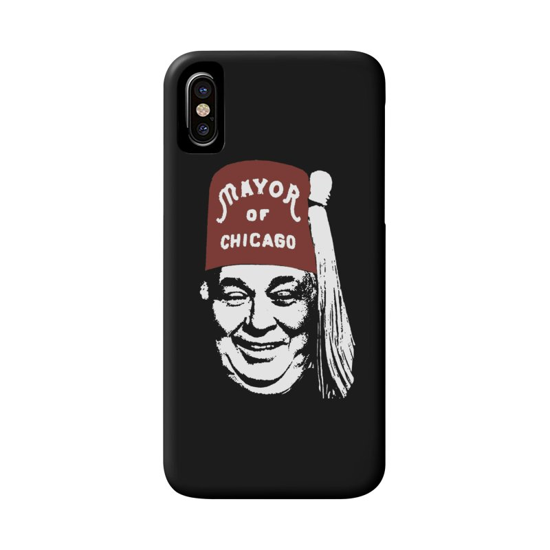 Da Mayor Mugs Accessories Phone Case by Brooks Industries