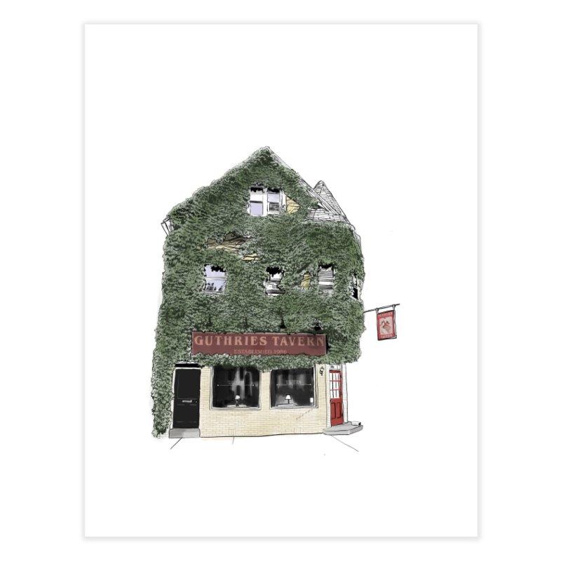 Guthries Home Fine Art Print by Brooks Industries