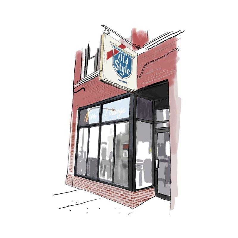 Nisei Lounge Home Fine Art Print by Brooks Industries