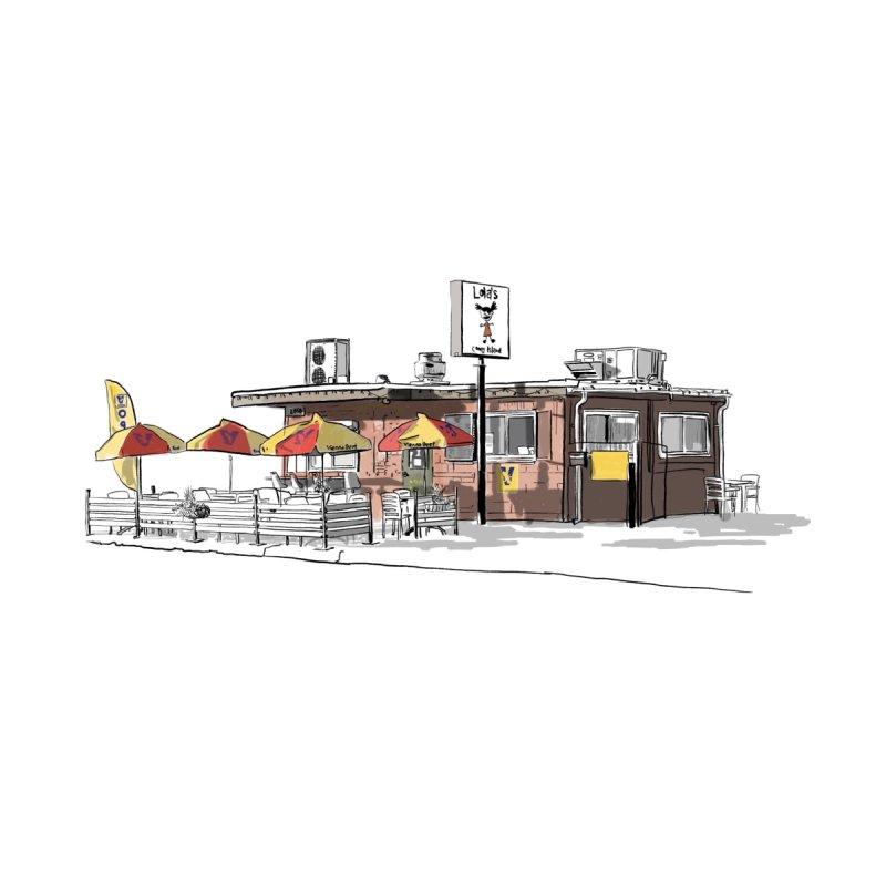 Lola's Coney Island I Home Fine Art Print by Brooks Industries