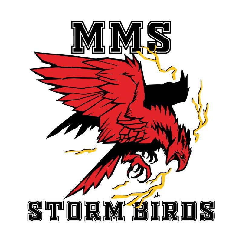 MMS Stormbirds Center Logo Accessories Bag by mkemontessori's Artist Shop