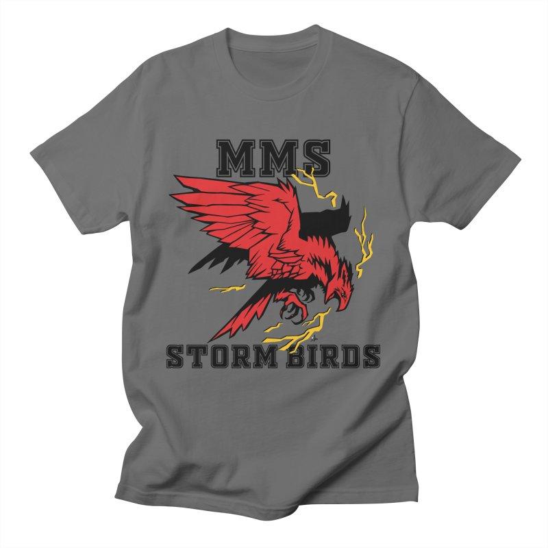 MMS Stormbirds Center Logo Men's T-Shirt by mkemontessori's Artist Shop