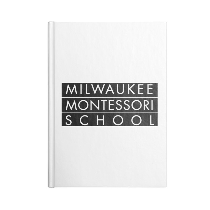 MMS Black Logo - Center Accessories Notebook by mkemontessori's Artist Shop
