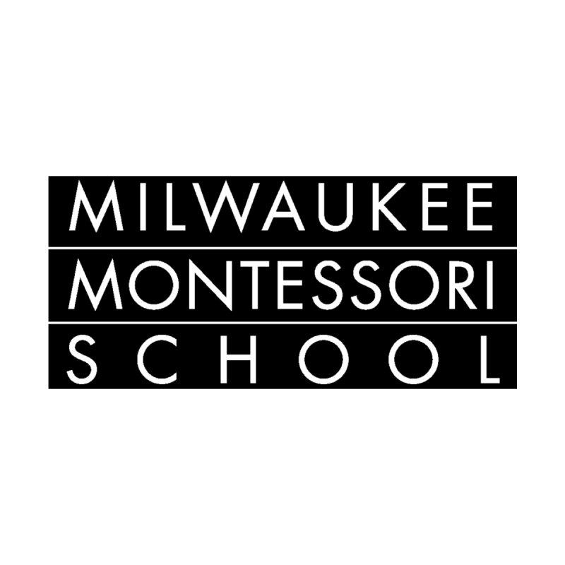 MMS Black Logo - Upper Chest Kids Toddler Pullover Hoody by mkemontessori's Artist Shop