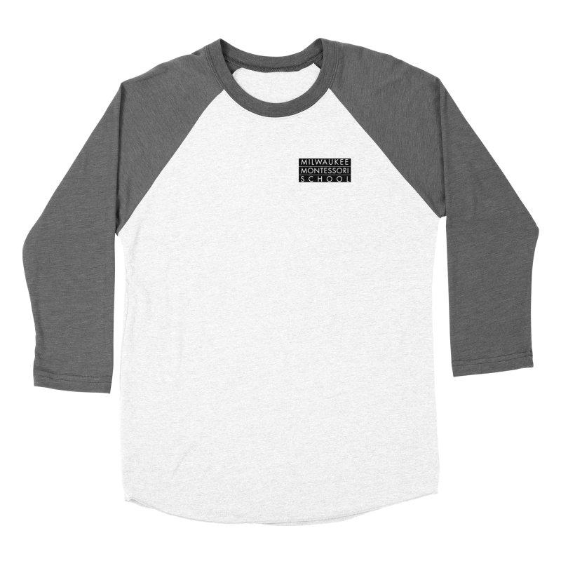 MMS Black Logo - Upper Chest Women's Longsleeve T-Shirt by mkemontessori's Artist Shop